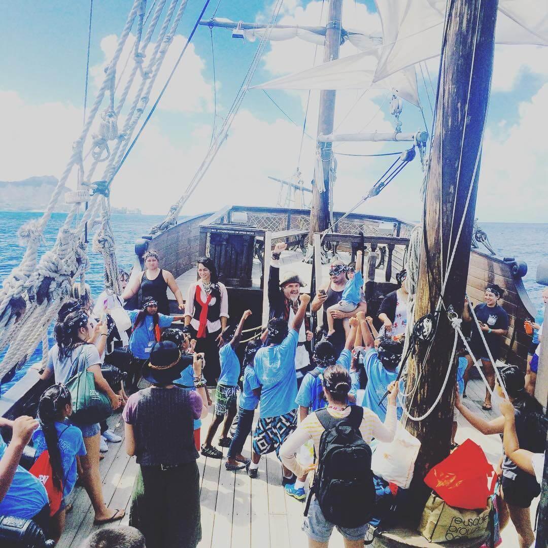 Hawaii Pirate Ship Adventures, Oahu experiences
