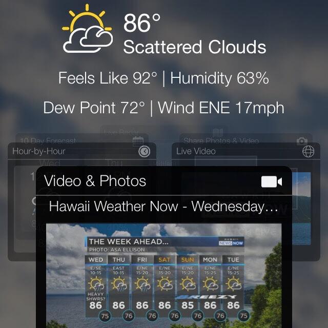 Hawaii WeatherNow, Hawaii travel apps