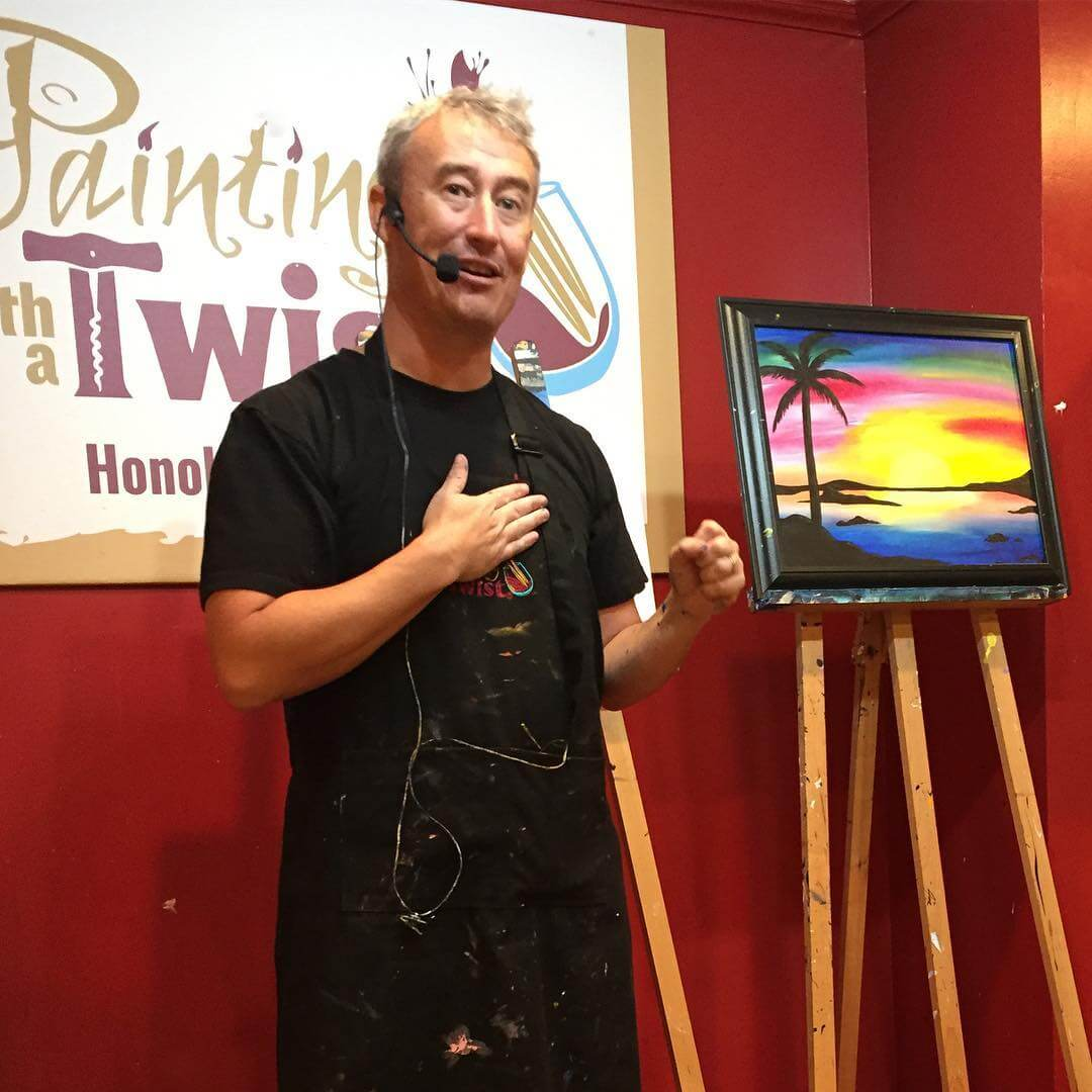 Painting with a Twist Honolulu, Oahu experiences