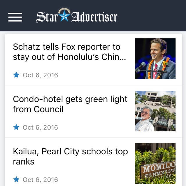 Star-Advertiser, Hawaii travel apps