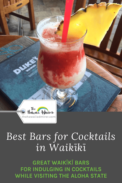 Cocktails, Waikiki, Oahu, Hawaii