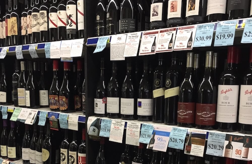 Tamura's Fine Wine & Liquors, Australian Wines