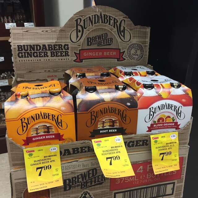 Fujioka's Wine Times, Bundaberg Ginger Beer