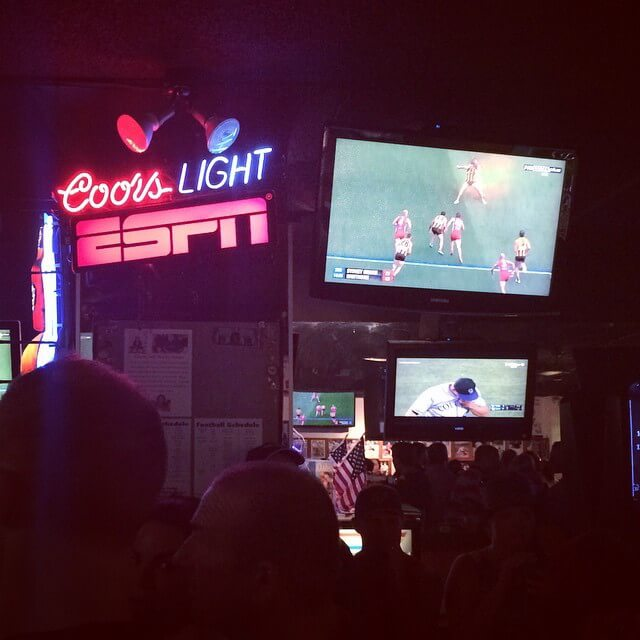 Legends Sports Pub, 2016 AFL Grand Final