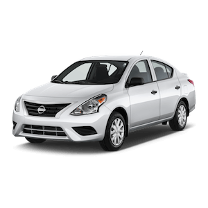 COMPACT 4-Door - Nissan Versa (Hawaii car hire)