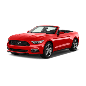 CONVERTIBLE 2-Seat - Ford Mustang (Hawaii car hire)