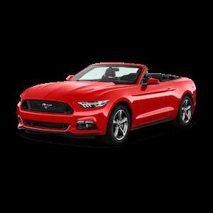 CONVERTIBLE 2-Seat - Ford Mustang (Hawaii car hire)