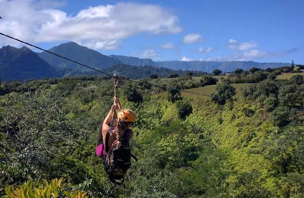 Ziplining, Kauai Must Dos