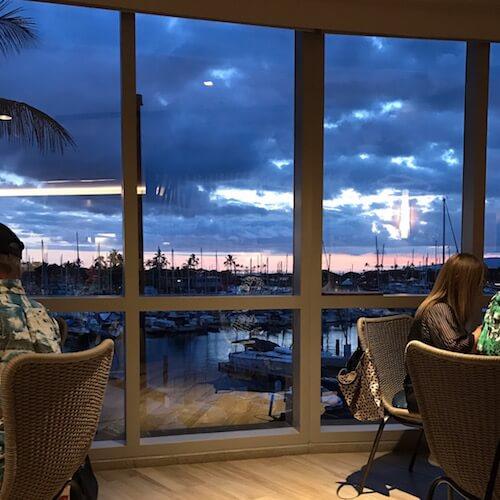 100 Sails Restaurant, Sunset Views
