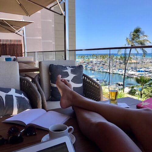 Prince Waikiki Hotel Review, Club Lounge
