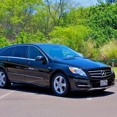 Oahu airport transfers the hawaii admirer for Mercedes benz oahu