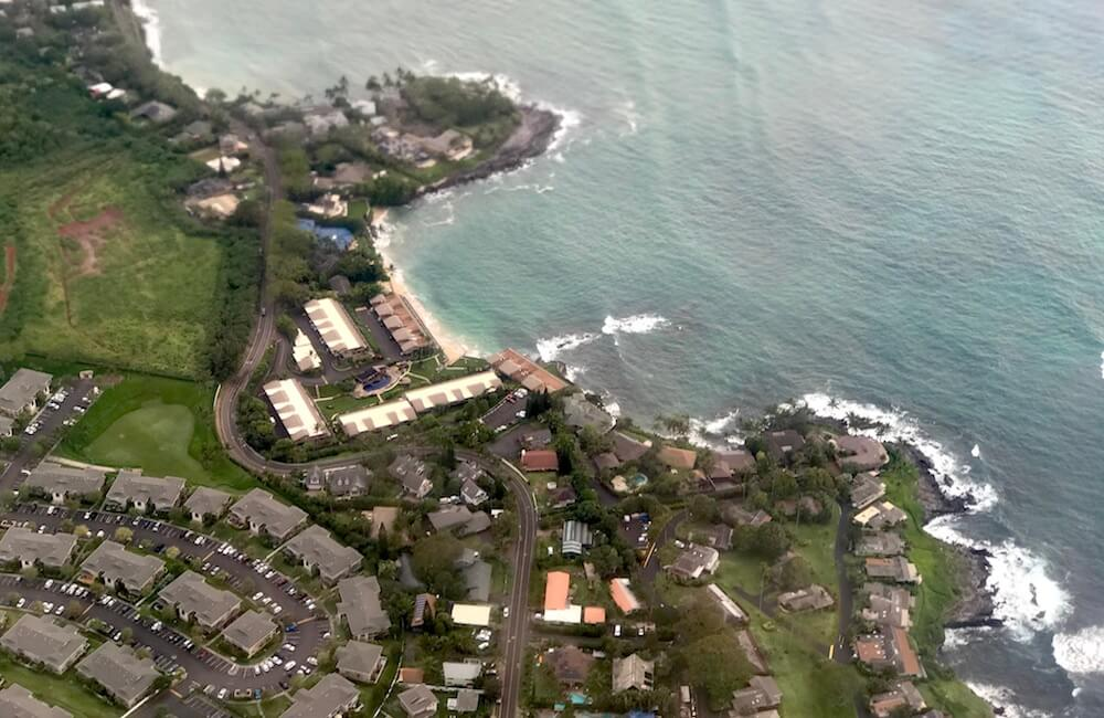 Aerial, Napili Kai Beach Resort, Maui, Hawaii
