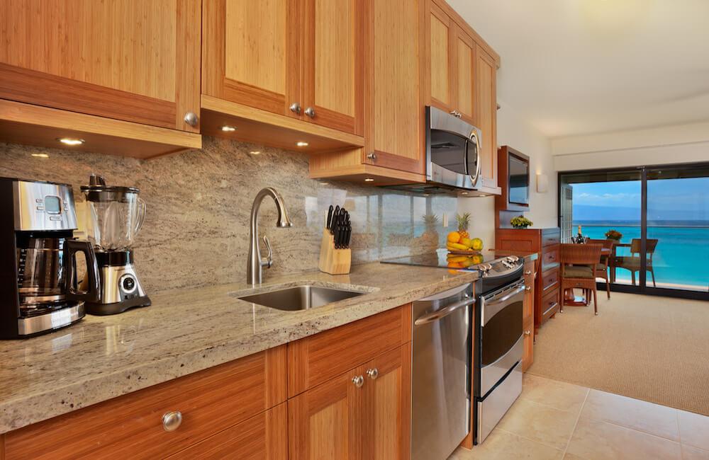 Kitchen, Napili Kai Beach Resort, Maui, Hawaii