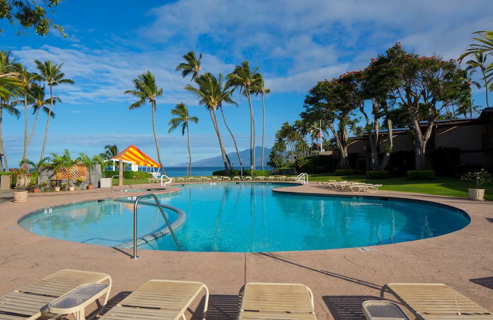 Pool, Napili Kai Beach Resort, Maui, Hawaii