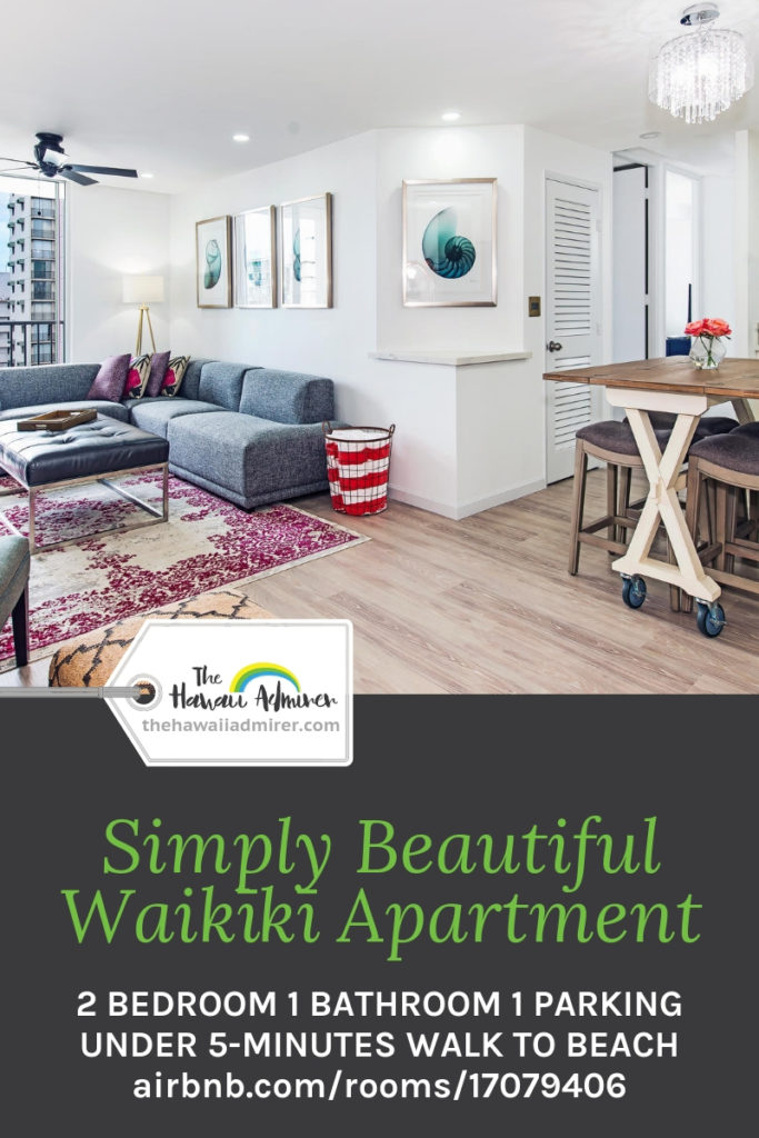 Simply Beautiful Waikiki Apartment