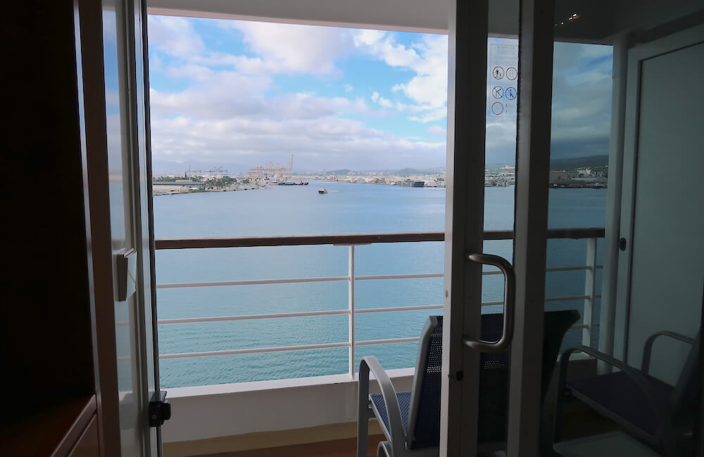 Pride of America, Oceanview Stateroom Cabin View