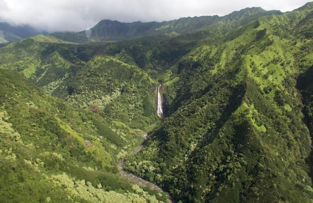 Mokihana Helicopter, Waterfalls, Kauai, Shore Excursion
