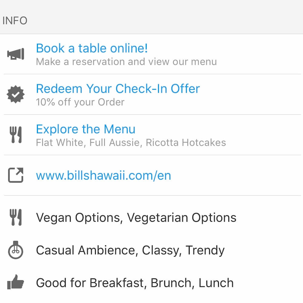 Yelp, Hawaii travel apps