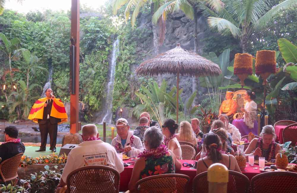 Alii Buffet Luau, Polynesian Cultural Center