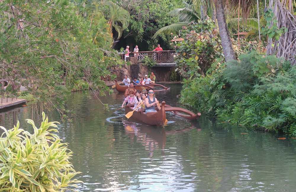 Canoe Paddling, Polynesian Cultural Center