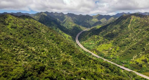Interstate H3 Highway, Oahu, Hawaii