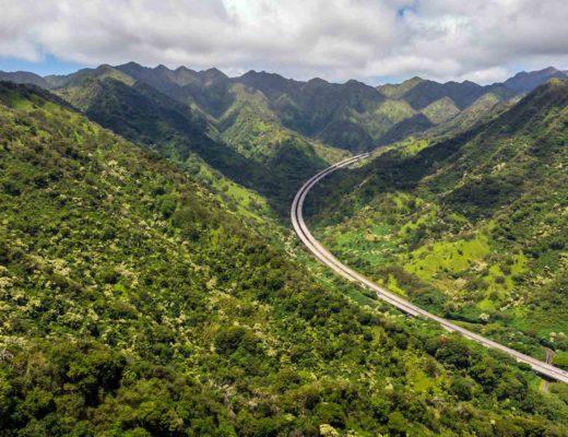 Interstate H3 Highway, Oahu, Hawaii