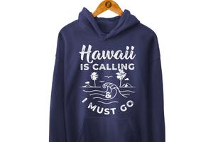 Hawaii Is Calling Hoodie, Hawaii Clothing, Hawaii-Inspired Shop